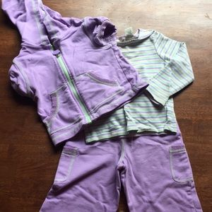 Girls Toddler Outside Play Matched Set